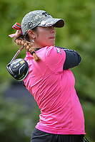 Annika Clark (a)(USA) watches her tee shot on 1 during round 1 of  the Volunteers of America LPGA Texas Classic, at the Old American Golf Club in The Colony, Texas, USA. 5/4/2018.<br /> Picture: Golffile | Ken Murray<br /> <br /> <br /> All photo usage must carry mandatory copyright credit (&copy; Golffile | Ken Murray)