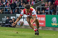 Picture by Allan McKenzie/SWpix.com - 06/04/2018 - Rugby League - Betfred Super League - St Helens v Hull FC - The Totally Wicked Stadium, Langtree Park, St Helens, England - Regan grace.