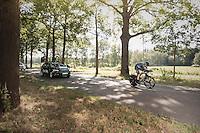 Geraint Thomas (GBR/SKY)<br /> <br /> 12th Eneco Tour 2016 (UCI World Tour)<br /> stage 2: Breda-Breda iTT (9.6km)