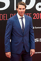 Rafa Nadal attends to photocall of 50th anniversary sport newspaper As in Madrid, Spain. December 04, 2017. (ALTERPHOTOS/Borja B.Hojas)