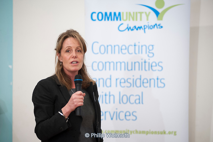 Councillor Catherine Faulks, Kensington & Chelsea Lead member for Adult Social Care and Public Health. Tri-Borough Community Champions Conference, 20/11/13.