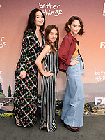 "NORTH HOLLYWOOD - MAY 10: Mikey Madison, Olivia Edward, and Hannah Alligood  attend the FYC Red Carpet Event for Season Three of FX's ""Better Things"" at the Saban Media Center at the Television Academy on May 10, 2019 in North Hollywood, California . (Photo by Frank Micelotta/FX/PictureGroup)"