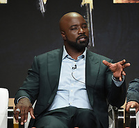 """BEVERLY HILLS - AUGUST 1: Mike Colter onstage during the """"Evil"""" panel at the CBS portion of the Summer 2019 TCA Press Tour at the Beverly Hilton on August 1, 2019 in Los Angeles, California. (Photo by Frank Micelotta/PictureGroup)"""