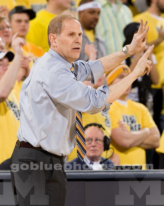 University of Michigan basketball 83-55 victory over Minnesota at Crisler Arena on senior night, March 2, 2010.