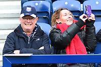 Preston North End fans look on<br /> <br /> Photographer Richard Martin-Roberts/CameraSport<br /> <br /> The EFL Sky Bet Championship - Preston North End v Blackburn Rovers - Saturday 24th November 2018 - Deepdale Stadium - Preston<br /> <br /> World Copyright © 2018 CameraSport. All rights reserved. 43 Linden Ave. Countesthorpe. Leicester. England. LE8 5PG - Tel: +44 (0) 116 277 4147 - admin@camerasport.com - www.camerasport.com