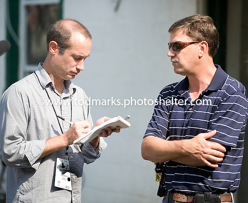 Graham Motion chats with DRF reporter on the eve of the Belmont Stakes.