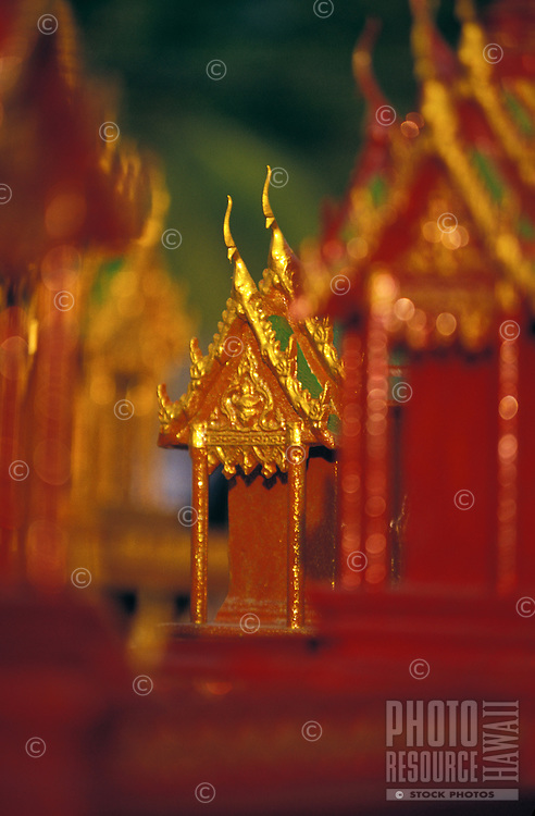 "Religious miniature temples, """"Buddhas house"""" in Phuket, Thailand"