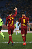 Javier Pastore of AS Roma celebrates after scoring fourth goal for his side <br /> Roma 14-01-2019 Stadio Olimpico<br /> Football Calcio Coppa Italia 2018/2019 Round of 16  <br /> AS Roma - Virtus Entella<br /> Foto Gino Mancini / Insidefoto