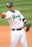 2012 June 11 Clinton LumberKings (Mariners) @ Cedar Rapids Kernels (Angels)