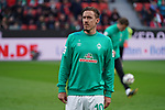 17.03.2019, BayArena, Leverkusen, GER, 1. FBL, Bayer 04 Leverkusen vs. SV Werder Bremen,<br />  <br /> DFL regulations prohibit any use of photographs as image sequences and/or quasi-video<br /> <br /> im Bild / picture shows: <br /> Max Kruse (Werder Bremen #10), beim Aufwaermen, Einzelaktion,  <br /> <br /> Foto © nordphoto / Meuter