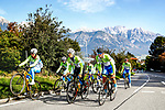 Slovenia Team training ride before the 2018 UCI Road World Championships, Innsbruck-Tirol, Austria 2018. 26th September 2018.<br /> Picture: Innsbruck-Tirol 2018/BettiniPhoto | Cyclefile<br /> <br /> <br /> All photos usage must carry mandatory copyright credit (&copy; Cyclefile | Innsbruck-Tirol 2018/BettiniPhoto)