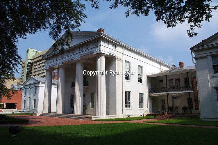 LITTLE ROCK, AR - 7 August 2010 - The Old State House in Little Rock, Arkansas is the oldest surviving state capitol building west of the Mississippi River. The building was used as the official state capitol until the new capitol building was constructed in 1912.  It is best known as the site of President Bill Clinton's election night celebrations in 1992..Picture: Ryan Eyer/Allied Picture Press