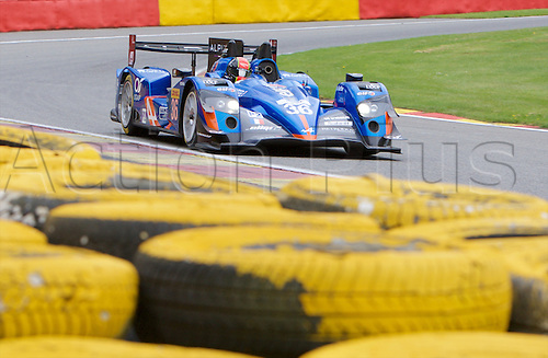 01.05.2015.  Spa-Francorchamps, Belgium. World Endurance Championship Round 2 Qualifying. Signatech Alpine LMP2 Alpine A450B driven by Nelson Panciatici, Paul-loup Chatin and Vincent Capillaire.