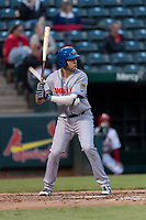 Amarillo Sod Poodles second baseman Hudson Potts (10) during a Texas League game against the Springfield Cardinals on April 25, 2019 at Hammons Field in Springfield, Missouri. Springfield defeated Amarillo 8-0. (Zachary Lucy/Four Seam Images)