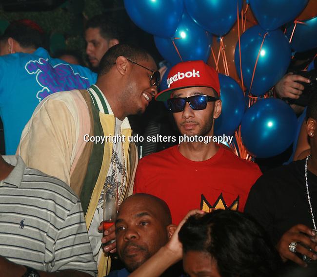 Carmelo Anthony and Swizz Beatz Attend New York Knicks' Carmelo Anthony's Birthday Celebration at Greenhouse, NY  5/26/11