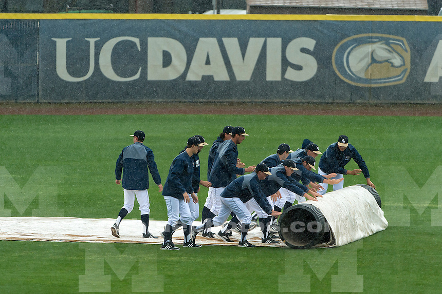 The Michigan Wolverines baseball team visits the UC Davis Aggies, Friday, March 4, 2016.<br /> Photo Brian Baer