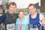 John Dunphy, Deirdre O'Shea and Ronan O'Shea looking forward to the action at the Gneeveguilla 5k winter series run on Killarney on Saturday morning.......