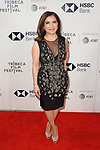 Producer Frida Torresblanco arrives at the U.S. premiere of the movie Disobedience, on April 22 2018, during the Tribeca Film Festival in New York City.
