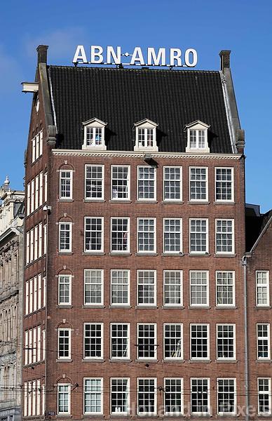 Nederland - Amsterdam - 2019. Kantoor van ABN-AMRO. Foto Berlinda van Dam / Hollandse Hoogte
