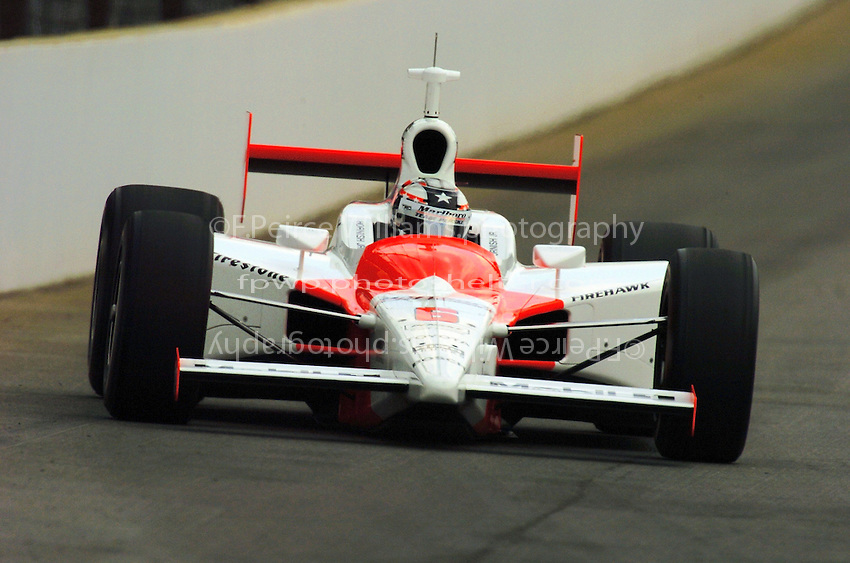 9-27 May,2004 Indianapolis Motor Speedway, Indiana, USA.Sam Hornish,Jr..
