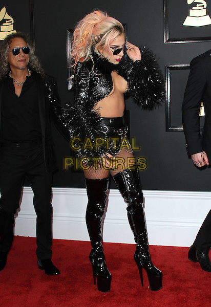 12 February 2017 - Los Angeles, California - Lady Gaga. 59th Annual GRAMMY Awards held at the Staples Center.  <br /> CAP/ADM<br /> &copy;ADM/Capital Pictures