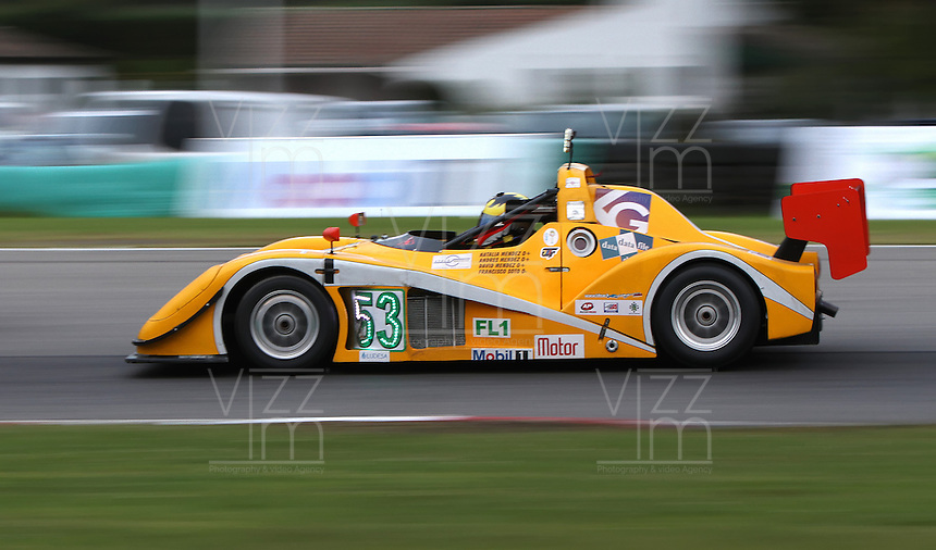 TOCANCIPA-COLOMBIA, 6-DICiEMBRE-2014. David Mendez , Andres Mendez , Natalia Mendez y Francisco Soto   , Class  FL1 hasta 1.340 , Marca Radical SR3 , durante  las Seis Horas Motor-Mobil 1 que se disputo en el Autodromo de Tocancipa con la participacion de mas de 50  pilotos . / Pilots David Mendez , Andres Mendez , Natalia Mendez y Francisco Soto , Class  FL1 to 1.340 , Marca Radical SR3 during  Las Seis  Horas Motor-Mobil 1 that disputed in the  Tocancipa autodromo with the participation of over 50 pilots.Photo / VizzorImage / Felipe Caicedo  / Staff