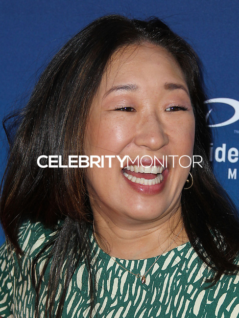 "HOLLYWOOD, LOS ANGELES, CA, USA - APRIL 29: Sandra Oh at the Los Angeles Premiere Of TriStar Pictures' ""Mom's Night Out"" held at the TCL Chinese Theatre IMAX on April 29, 2014 in Hollywood, Los Angeles, California, United States. (Photo by Xavier Collin/Celebrity Monitor)"