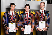 Cricket Boys finalists Mark Chapman, Simon Hickey and Nathan Williamson.  ASB College Sport Young Sportsperson of the Year Awards held at Eden Park, Auckland, on November 11th 2010.