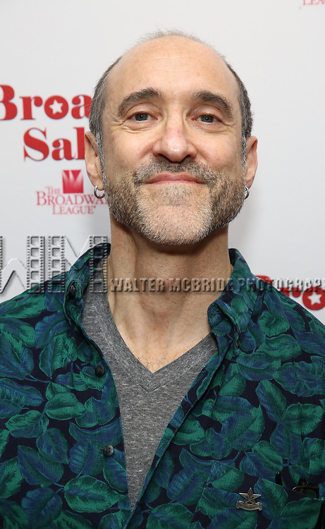 Jonathan Brody attends Broadway Salutes 10 Years - 2009-2018 at Sardi's on November 13, 2018 in New York City.