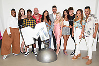 "Jade Williams, Dee Hughes, Jon Swan, Chris Mcnaughten, Maya Jama, Daniel James, Olivia Beaumont, Eleanor Lofters, Charlie Fallon, Shereece Marcantonio and Cameron Fallon <br /> at launch photocall for MTV's ""True Love or True Lies?"", London<br /> <br /> ©Ash Knotek  D3417  07/08/2018"