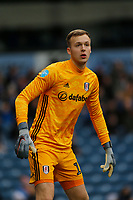 8th February 2020; Ewood Park, Blackburn, Lancashire, England; English Football League Championship Football, Fulham keeper Marek Rodak
