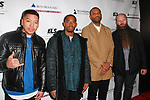 Music group The Stereotypes attend the Recording Academy Producers & Engineers Wing event honoring Alicia Keys and Swizz Beatz at 30 Rockefeller Plaza in New York City, during Grammy Week on January 25, 2018.
