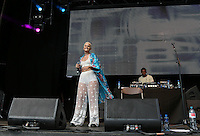 Etta Bond performs during The New Look Wireless Music Festival at Finsbury Park, London, England on Saturday 04 July 2015. Photo by Andy Rowland.