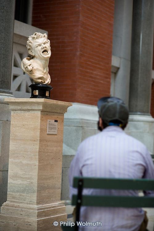Sculpture gallery of the Metropolitan Museum of Art, Manhattan, New York.