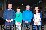 Members of the Portmagee Pastoral Council with Fr. David Gunn on Monday evening at his going away party pictured l-r; Jackie O'Sullivan, Noreen Devane, Fr David Gunn & Marie Hurley.