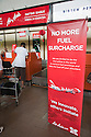 AirAsia announces dropping fuel surcharges to its passengers on 29 January 2009. Surcharges were introduced in the airline industry due to the rising oil prices and fuel costs. Malaysia
