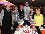 Darren Arnold celebrating his 21st birthday in Daly's of Donore with family. Photo:Colin Bell/pressphotos.ie