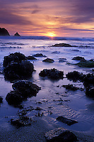California, Bodega Bay, Sunset, Miwok Beach, Sonoma Coast Beach State Park