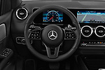 Car pictures of steering wheel view of a 2019 Mercedes Benz B-Class - 5 Door Mini Mpv Steering Wheel