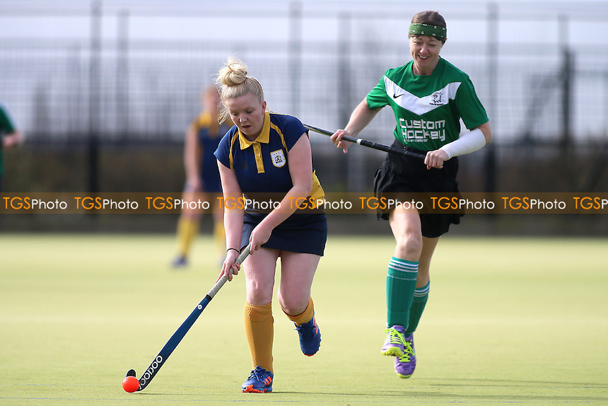 Harlow HC Ladies vs Romford HC Ladies, Essex Women's League Field Hockey at Leventhorpe School on 4th March 2017