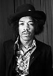 Jimi Hendrix 1967.© Chris Walter.