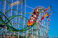 Rollercoaster at Arizona State Fair