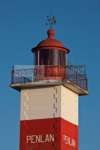 Europe/France/Bretagne/56/Morbihan/Billiers: Le phare de Pen Lan à la pointe de Pen-Lan