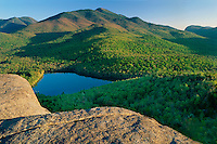 Heart Lake and Algonquin Peak from Mount Jo<br /> Adirondack Park<br /> Adirondack Mountains,  New York