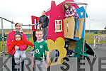 Lixnaw Playground Project : Pictured at Lixnaw Playground on Tuesday were  committee member Niamh Mannion with her son Sean, Conor Mannion, Daragh mannion & Andrea Fealy.