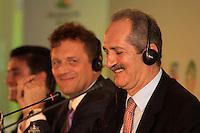 RIO DE JANEIRO, RJ, 30 DE MAIO 2012 - SORTEIO COPA DAS CONFEDERACOES - O Ministro dos Esportes durante sorteio da Copa das Confederações, torneio que antecede a Copa do Mundo e que será disputado entre 15 e 30 de junho de 2013. No Hotel Sheraton, na Barra da Tijuca nesta quarta-feira, 30. (FOTO: GUTO MAIA / BRAZIL PHOTO PRESS).