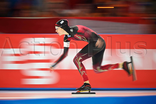 05.03.2016. Berlin Germany. World Championships of Speed skating.   500m Women Roxanne Dufter ger