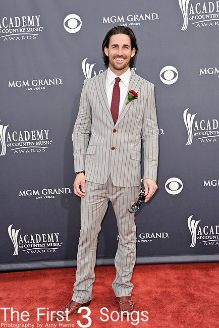 Jake Owen attends the 46th Annual Academy of Country Music Awards in Las Vegas, Nevada on April 3, 2011.