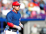 6 March 2010: Washington Nationals' catcher Derek Norris in action during a Spring Training game against the New York Mets at Space Coast Stadium in Viera, Florida. The Mets defeated the Nationals 14-6 in Grapefruit League action. Mandatory Credit: Ed Wolfstein Photo