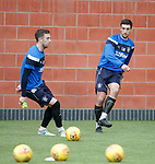 Lee Wallace and Danny Wilson
